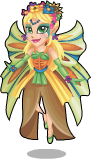 Fairy queen titania static
