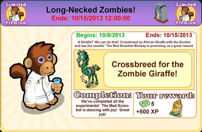Goal zombie modal9