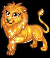Gold lion single