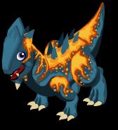 Lava dragon single