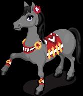 Mexican dancing horse single