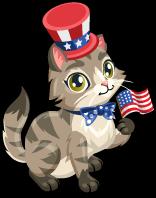 President's day cat single