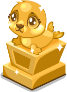 Seal baby trophy