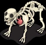 Skeleton Polar Bear single