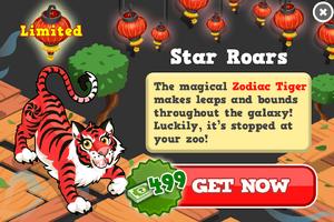 Zodiac tiger modal