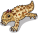 Horned lizard single
