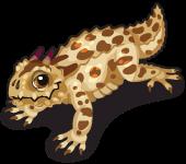 Horned lizard single