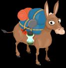 Pack mule static