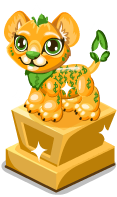 Cubby bucks lion statue