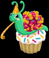 Cupcake snail single