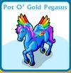 Pot o' gold pegasus card