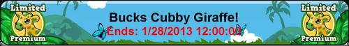 Goal cubby bucks giraffe title