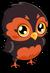 Owl cubby spooky single