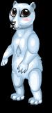 Arctic polar bear static
