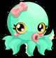 Cubby Octopus Green Single