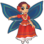 Folklorico fairy an