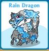 Rain dragon card