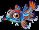 Mandarin fish single