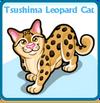 Tsushima leopard cat card