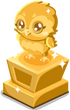 Cubby owl trophy