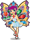 Bejewelled fairy single