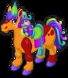 Birthday pony single