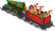 Holiday train caboose