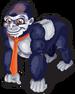 Silverback gorilla single