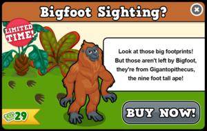 Gigantopithecus modal
