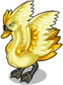 Golden bucks swan single