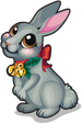 Holiday bunny single