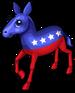 Patriotic donkey single