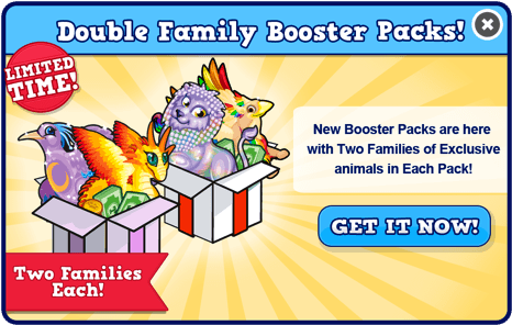 Booster pack october modal