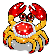 Ruby crab single