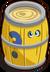 Mystery yellow barrel