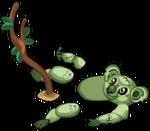 Zombie koala an
