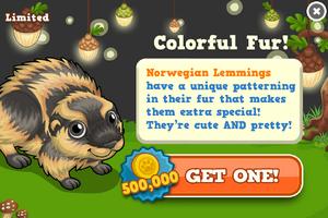 Norwegian lemming modal