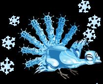 Snowflake peacock an