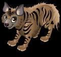 Striped hyena static