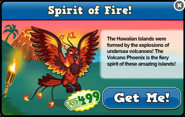 Volcano phoenix modal
