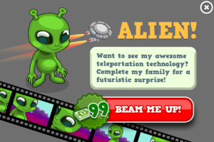 Alien animators modal