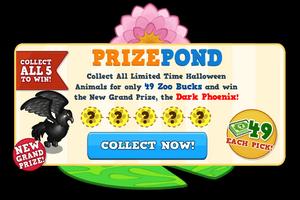 Dark phoenix pond modal