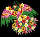 Flower phoenix single