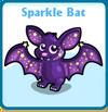 Sparkle bat card