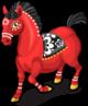 Zodiac horse single