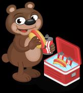 Hungry bear single