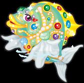 Prasiolite fish single
