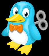 Windup penguin single