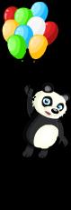 Fly away panda an