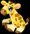 Giraffe baby mile3 single
